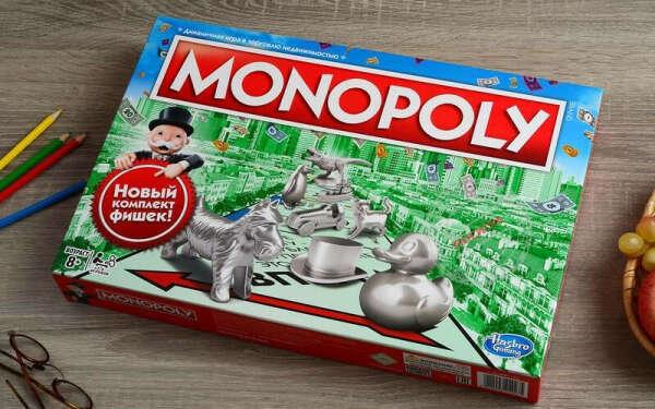 Монополия Hasbro (с уточкой)