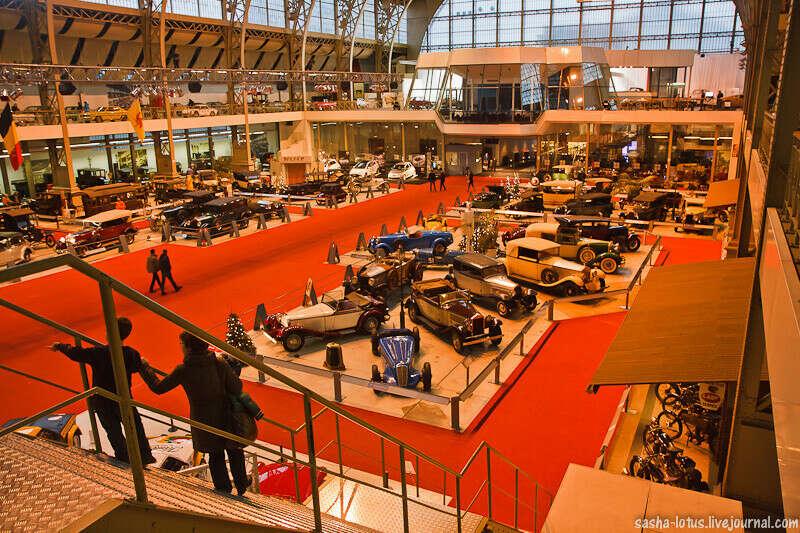 Посетить музей Автомир в Брюсселе