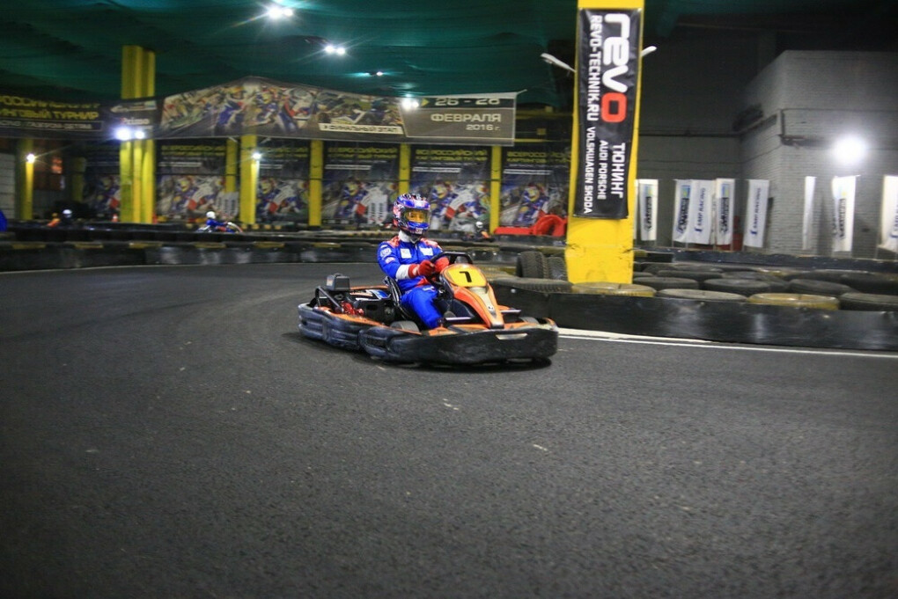 «Forza Karting» — сеть картинг-клубов в Москве