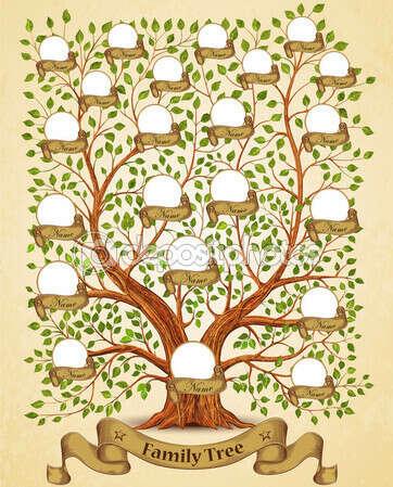 Составить генеалогическое древо семьи