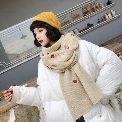 935.62руб. 7% СКИДКА|Новый Модный осенне зимний удобный темпераментный шарф, Новое поступление, мягкая Высококачественная уличная Милая теплая шаль с вышивкой|Женские шарфы|   | АлиЭкспресс
