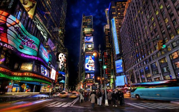 Приехать в Нью-Йорк на 2 недели