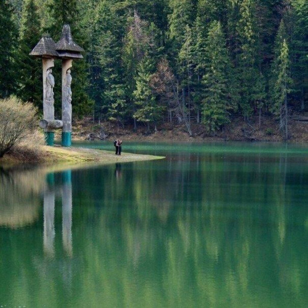 Озеро Синевир, Карпаты