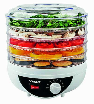 Сушилка для овощей SCARLETT SC-421 – интернет-магазин Эльдорадо