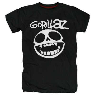 Футболки Gorillaz