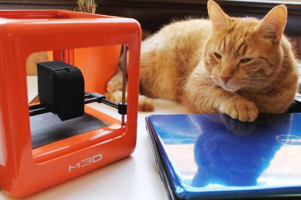 Переносной микро-3D-принтер - 359$