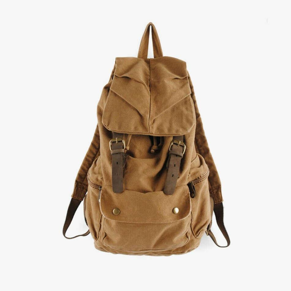 Винтажный дорожный рюкзак