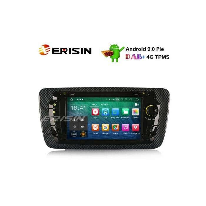 "ERISIN ES8122S 7"" PX5 ANDROID 10.0 CAR DVD FOR SEAT IBIZA DSP CARPLAY & AUTO GPS TPMS DAB+ 4G RADIO"