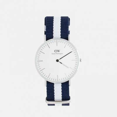 Daniel Wellington  Женские наручные часы  Classic Glasgow Silver