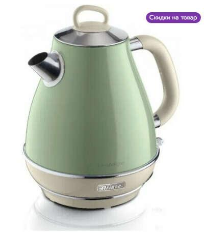 Электрический чайник Ariete 2869 зеленый