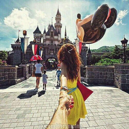 Поездка в Disneyland