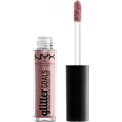 NYX Glitter Goals Liquid Eyeshadow, оттенок Metropical