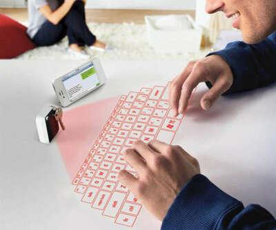 Лазерная виртуальная клавиатура