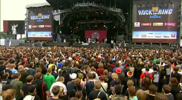 на концерт 30 Seconds To Mars на Rock Am Ring в Таллин