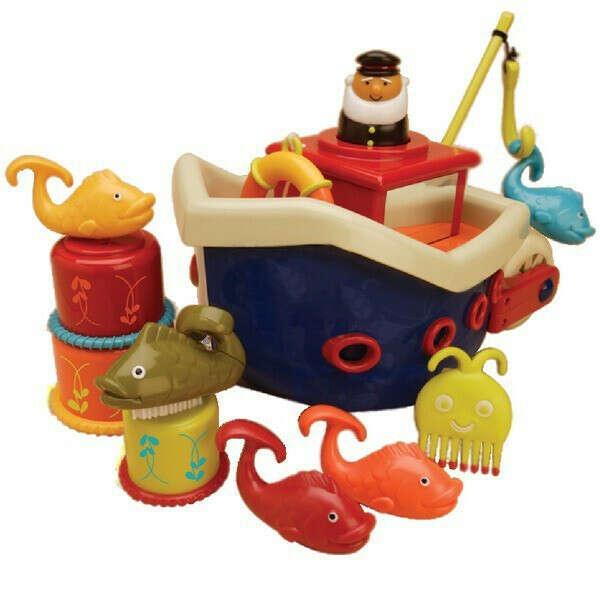 Набор для ванны Battat Кораблик