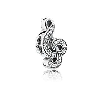 PANDORA   Шарм «Скрипичный ключ»