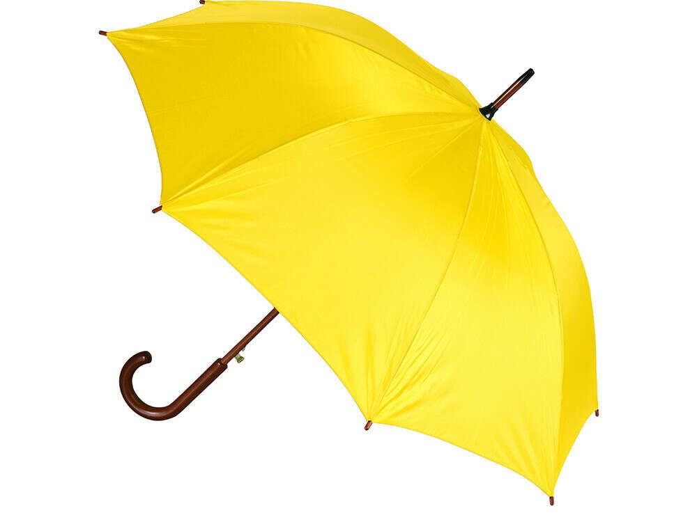 Желтый зонтик-трость ;)