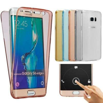 360° двойной силиконовый чехол для телефона для Samsung Galaxy A60