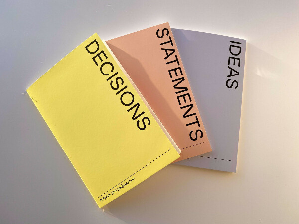 Тетради для рефлексии (Ideas, Decisions, Statements)