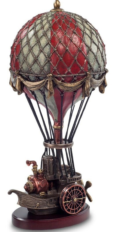 Стимпанк-cтатуэтка Воздушный шар