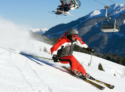 Встать на горные лыжи