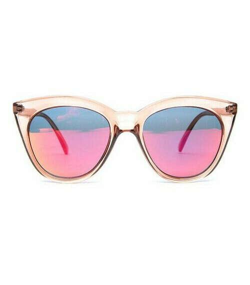 очки Le Specs Halfmoon Magic-Tan