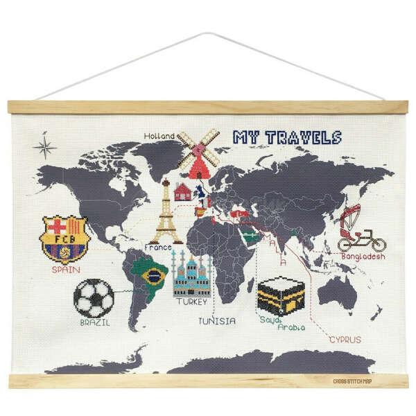 Набор для вышивания My Travels