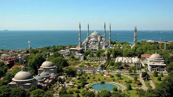 Съездить с мужем самостоятельно в Турцию (Стамбул)