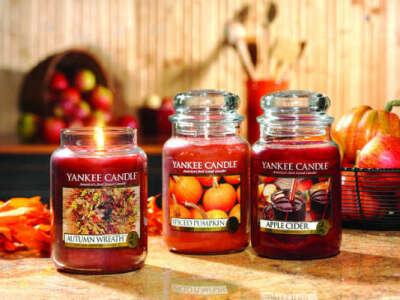 Свечи от Yankee candle
