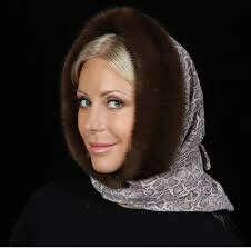 меховой платок
