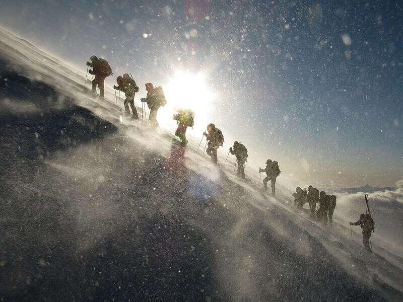 Взойти на гору