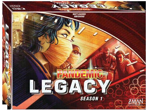 Pandemic: Legacy (Season 1) Пандемия Наследие (Сезон 1)