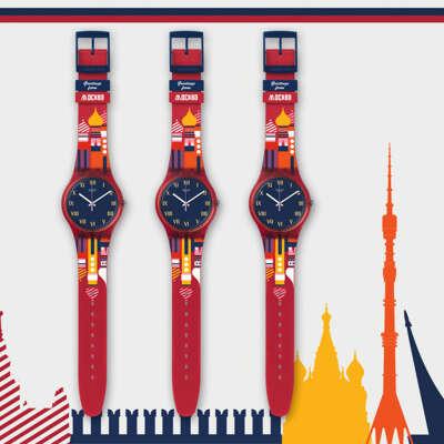 Часы Swatch Moscow