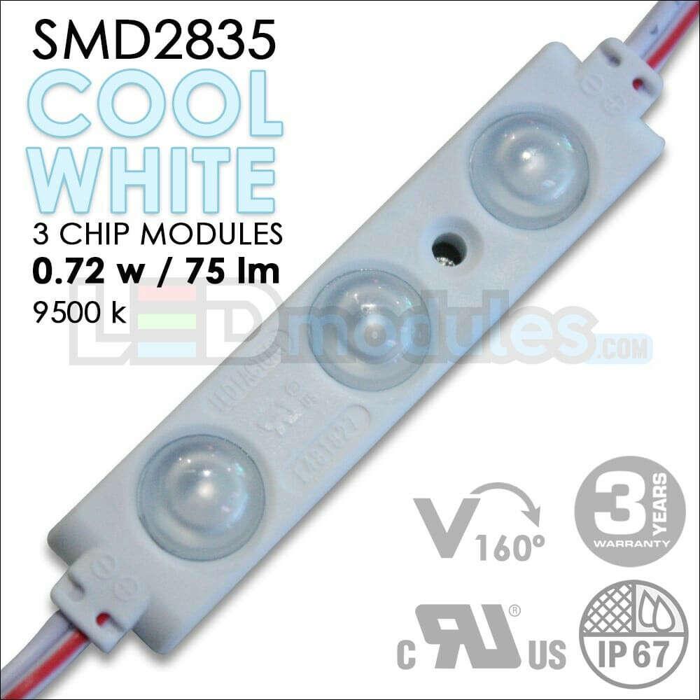 160° – 0.72w – Cool White Led Modules (100pcs)