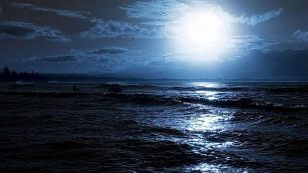 искупаться в море ночью