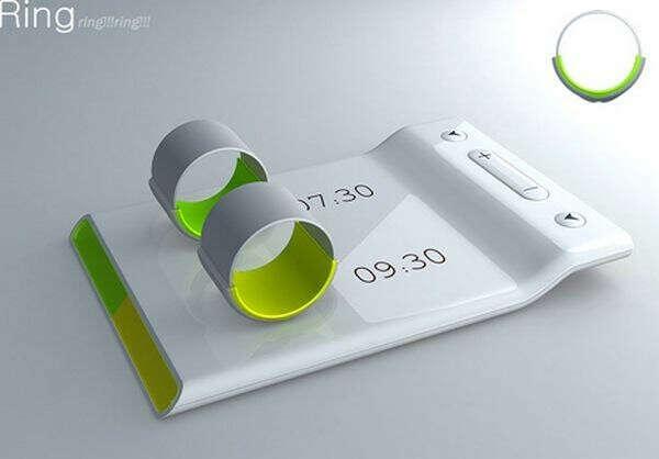 Alarming Ring: концепт двойного будильника с виброкольцами