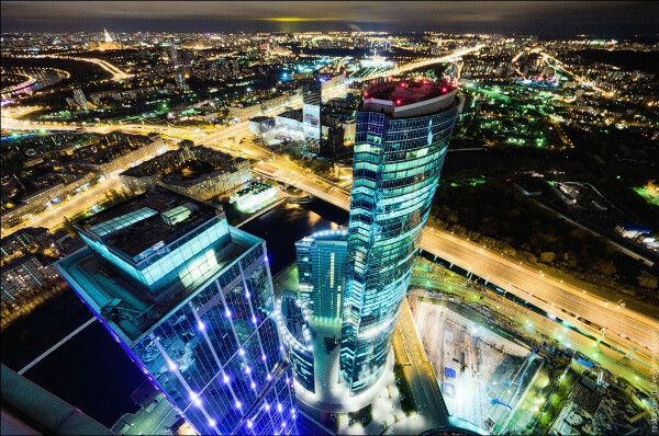 Увидеть Москву с крыши Москва-Сити