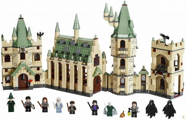 Конструктор Lego Harry Potter Замок Хогвартс, лего 4842