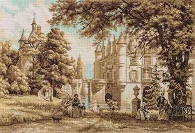 """Набор для вышивания """"В парке замка Шенонсо"""""""