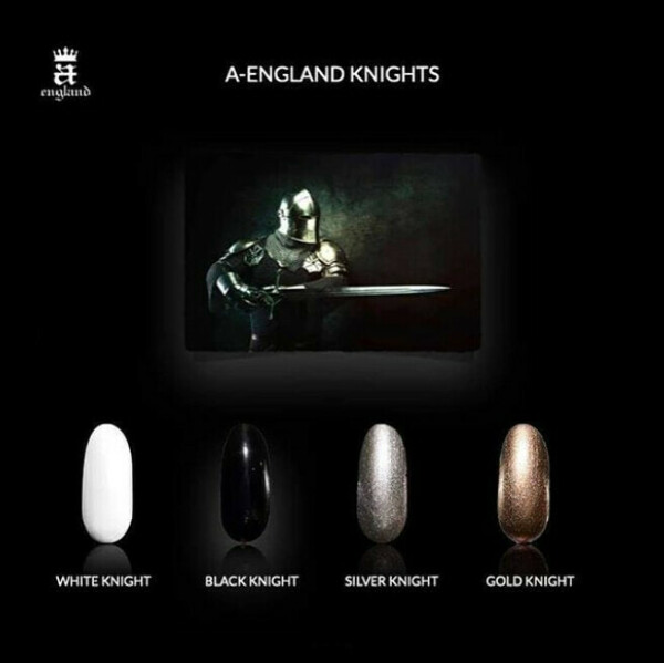 A-England Knights   White and Black