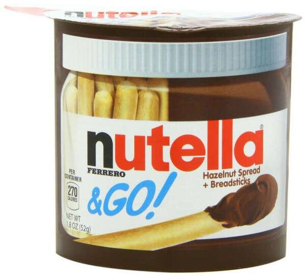 Nutella с печеньками