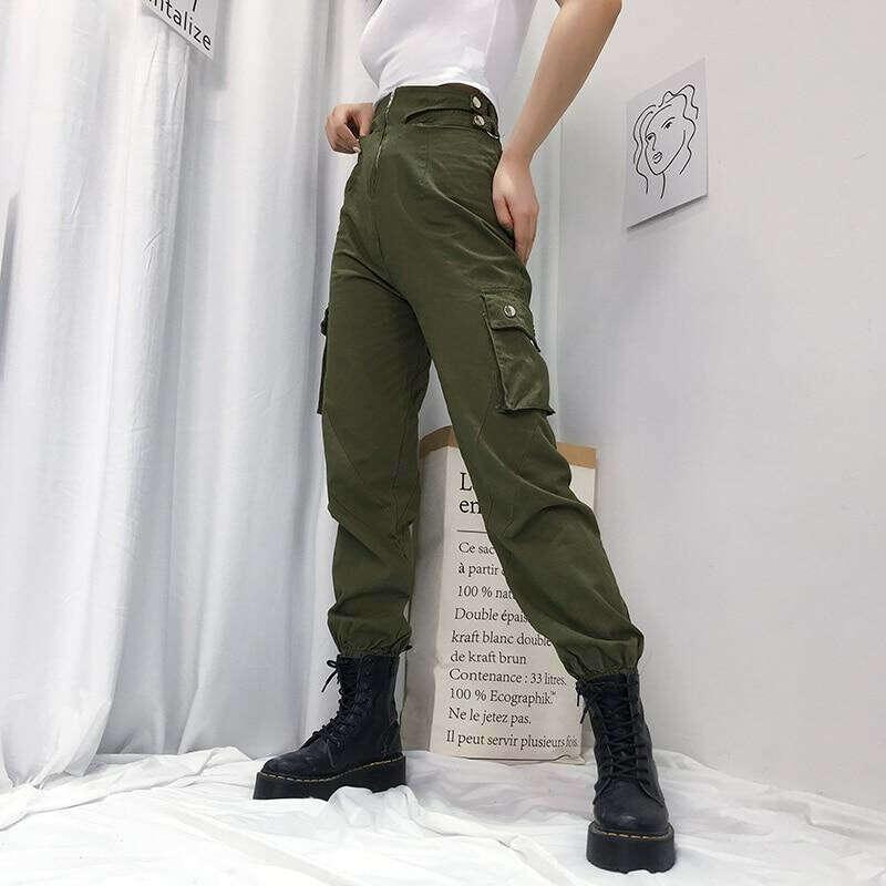 Dual Snap Waist Pants
