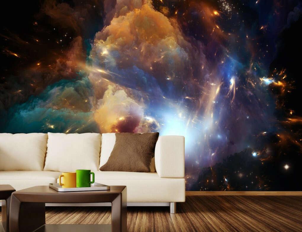 Космическая стена (In The Dawn Of the Cosmos Wall Mura)