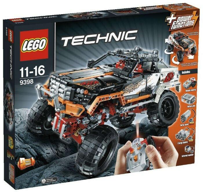 LEGOTechnic 9398 Внедорожник 4х4