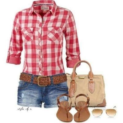 Рубашку и шорты