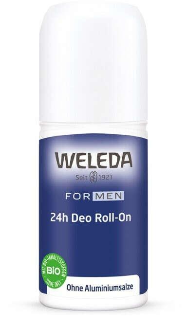 Weleda Дезодорант мужской Roll-On 24 часа, 50 мл