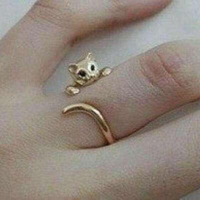 Кольцо «Кошечка»