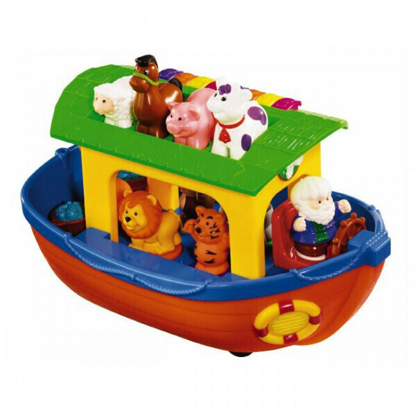 игрушка Kiddieland Ноев ковчег со звуком