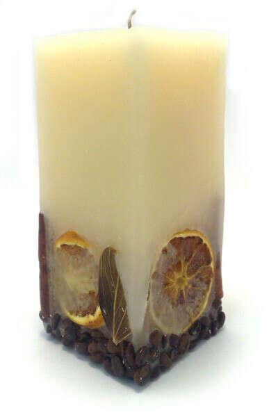 Ванильные свечи