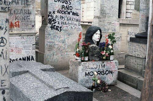 Побывать на кладбище Пер-Лашез